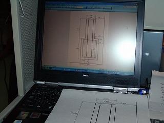 大型炉基礎工事図面