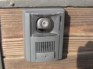 インターホンカメラ
