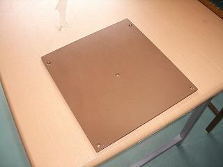銅製熱盤フッ素樹脂コーティング後