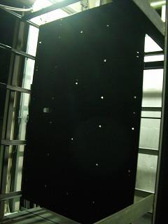 液晶パネル用テーブル帯電防止フッ素樹脂コーティング