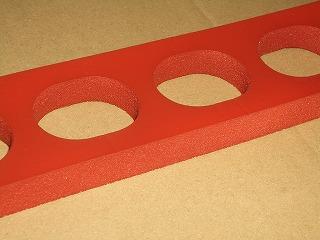 シリコンゴムパッキンフッ素樹脂コーティング