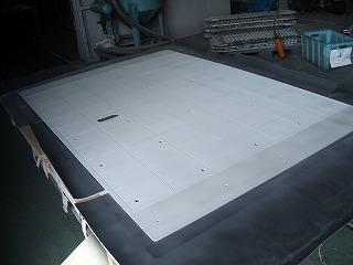 液晶パネル用テーブル前処理