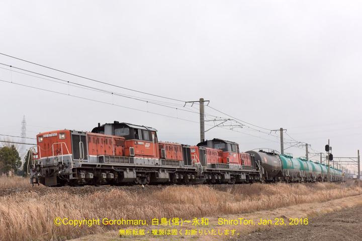 61_DD51 890+1801石油輸送13車_5282列車