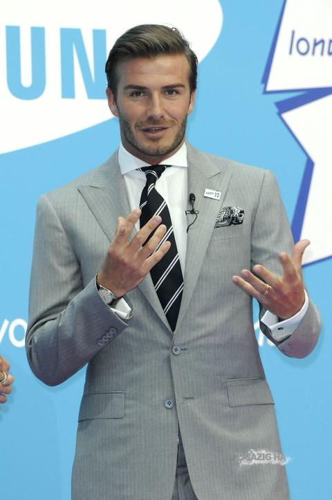 premium selection 42b3e 148fb ベッカム スーツの時によくはめている腕時計 : ファッションの ...