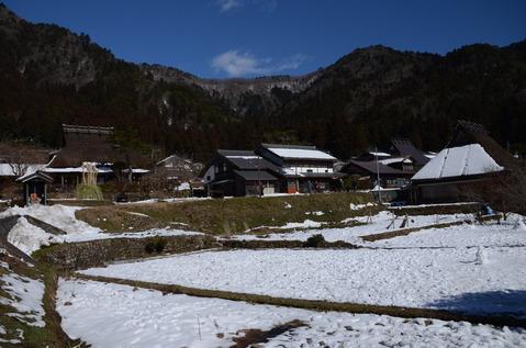 美山の雪景色18