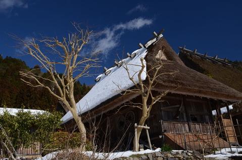 美山の雪景色14