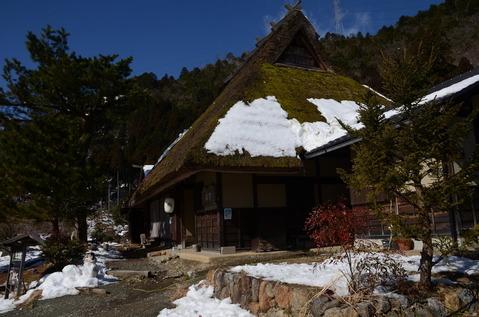 美山の雪景色11