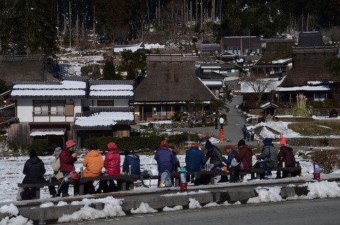 美山の雪景色20