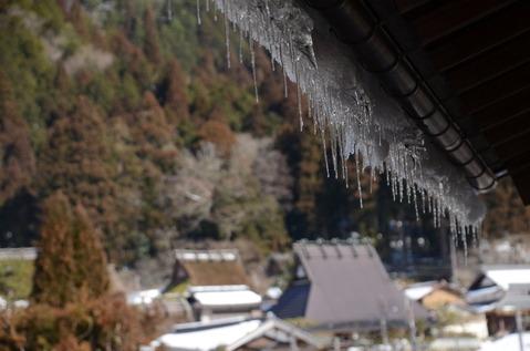 美山の雪景色1