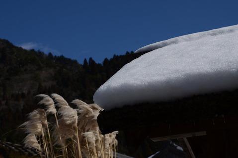 美山の雪景色7