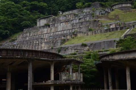 神子畑選鉱場跡1