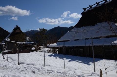 美山の雪景色10
