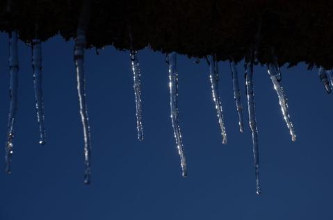 美山の雪景色8