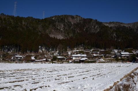 美山の雪景色2