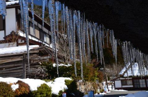 美山の雪景色15