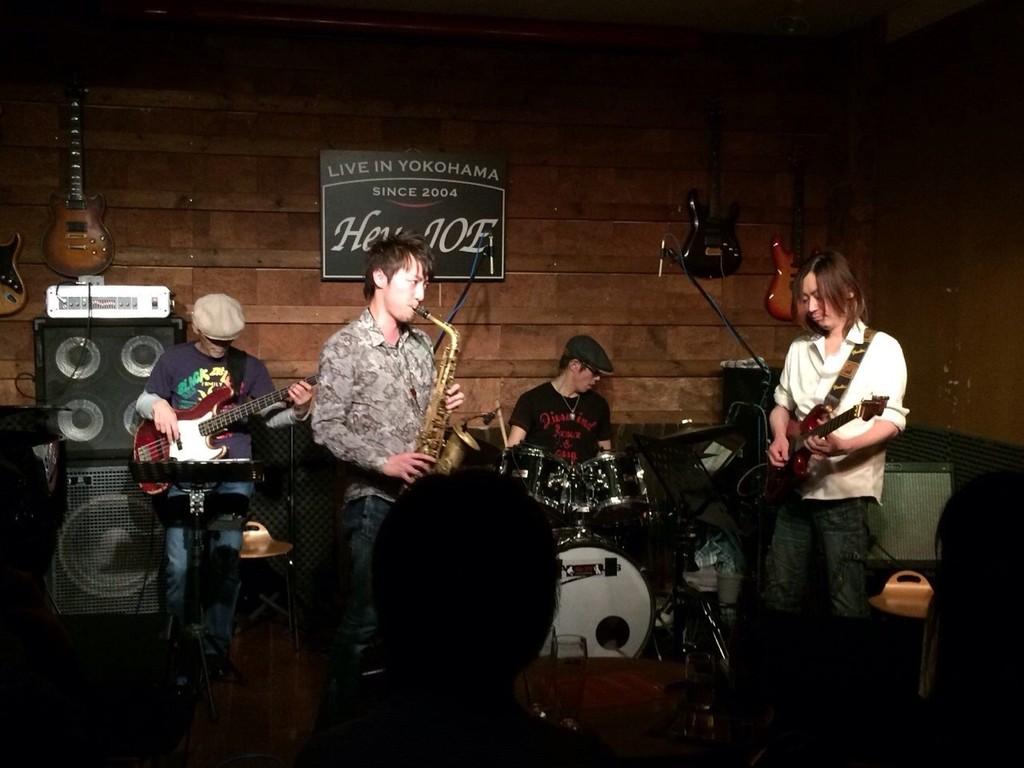 2014-04-01 - 大熊組セッション at Hey-JOE 1