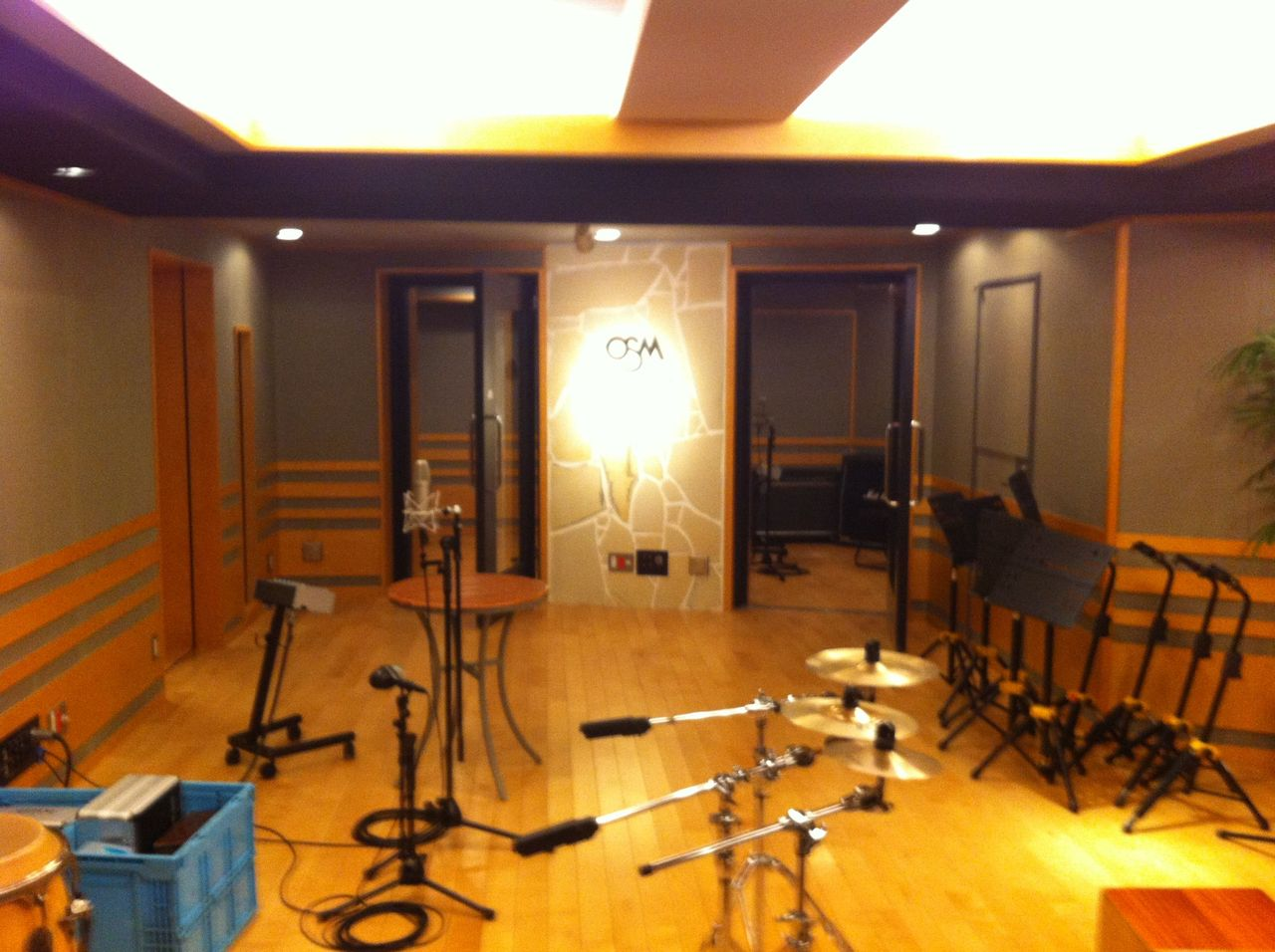 2012-05-14 - サラハンナ Recording at OSM1
