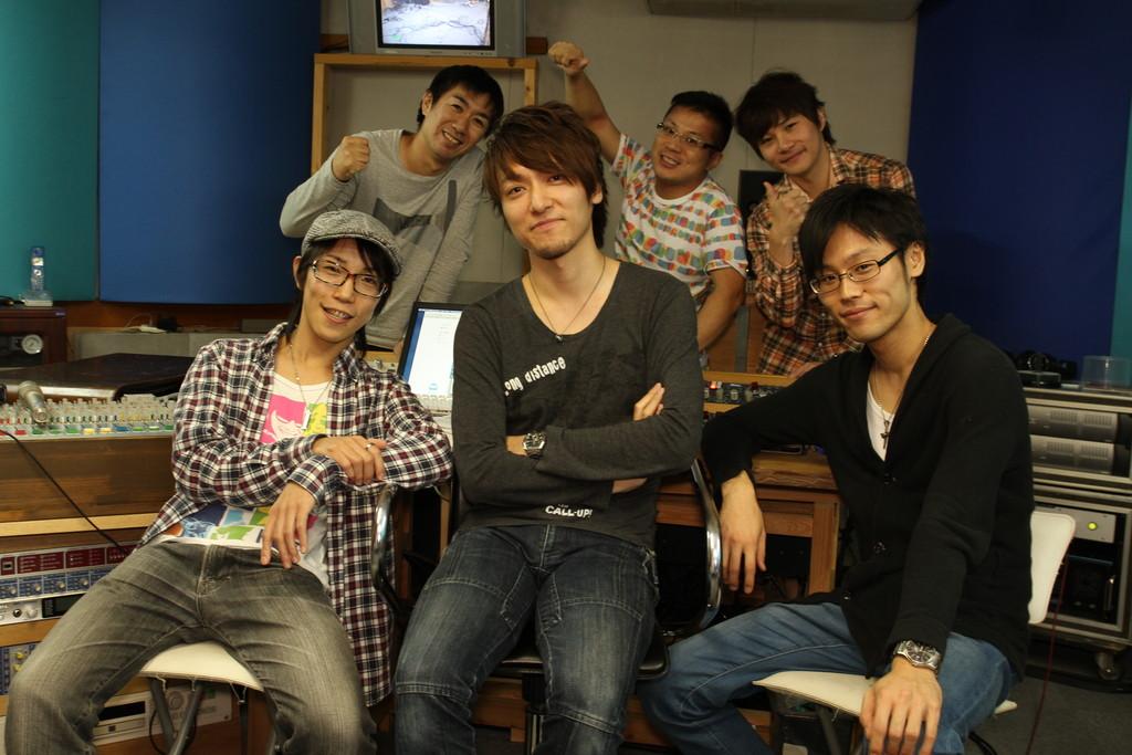 The jubilax Recording at K.station (集合写真)
