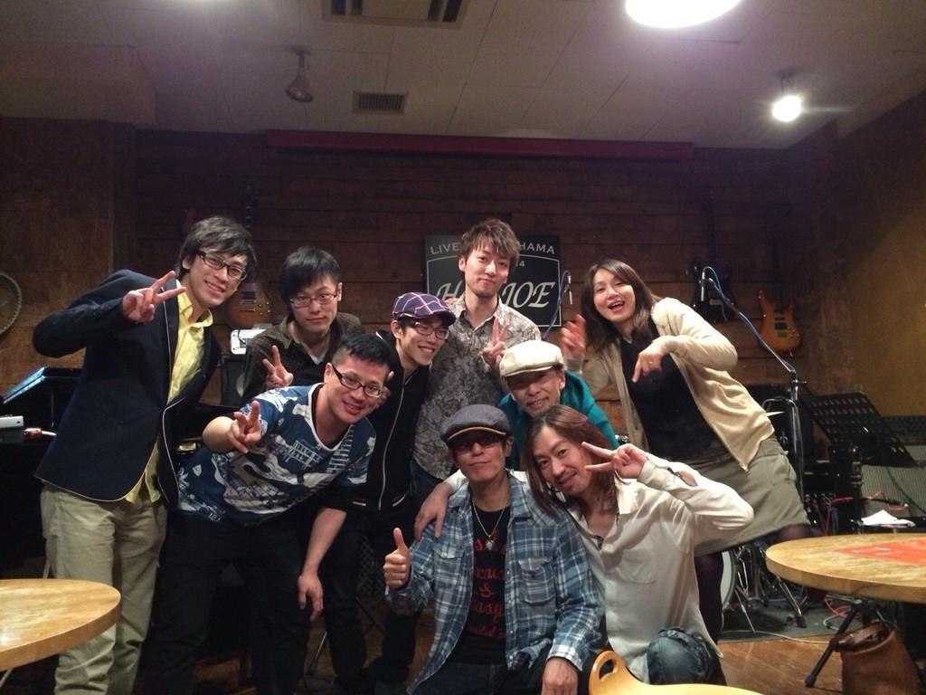 2014-04-01 - 大熊組セッション at Hey-JOE 2