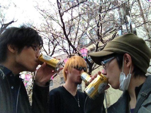 2012-04-05 - 花見 at 幡ヶ谷