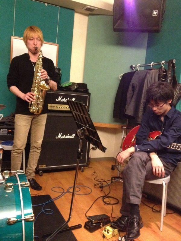 2012-04-05 - Rehearsal at Grand Blue