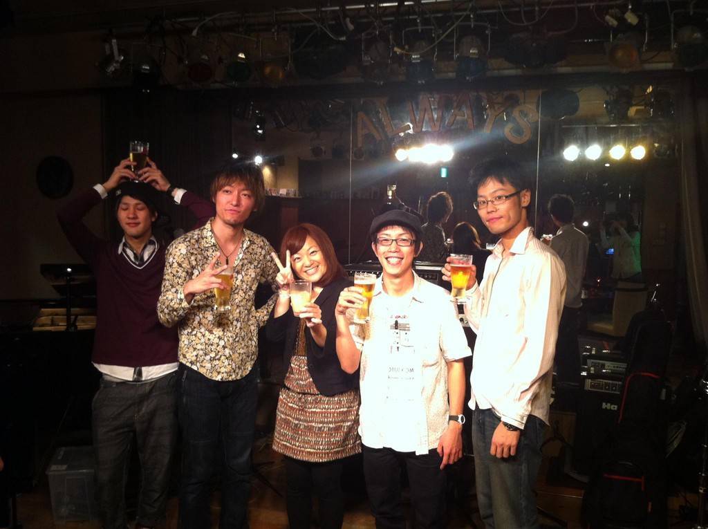 2012-09-30 - The Jubilax Live at 伊丹Always