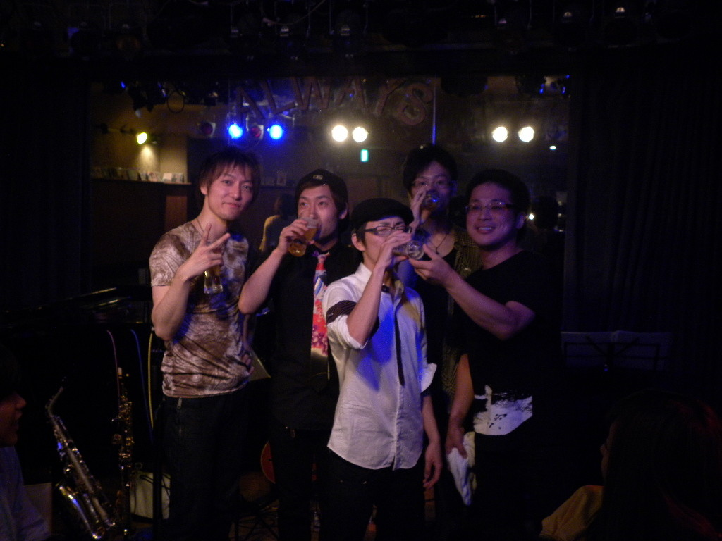 2012-07-22 - The Jubilax Live at Always
