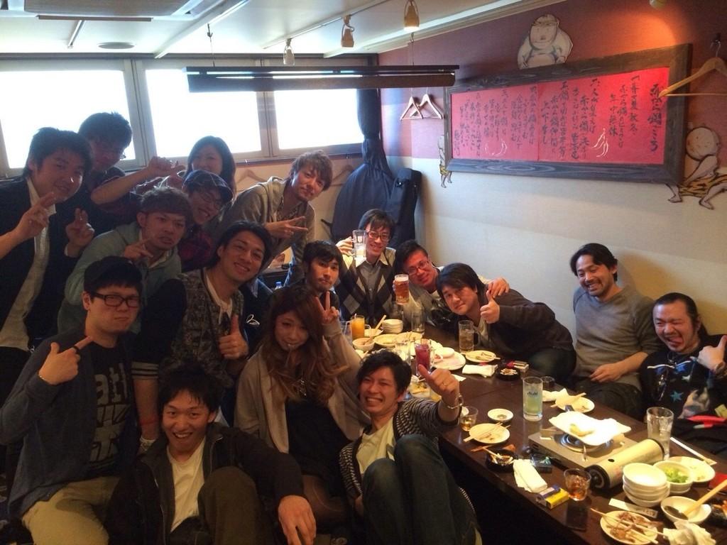 2014-04-06 - Circle K Vol.2 打ち上げ