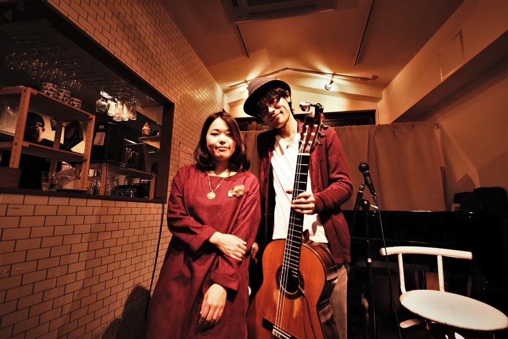 2019-02-02 - futarinote 1st Live at Cafe&Music Kirsche 12