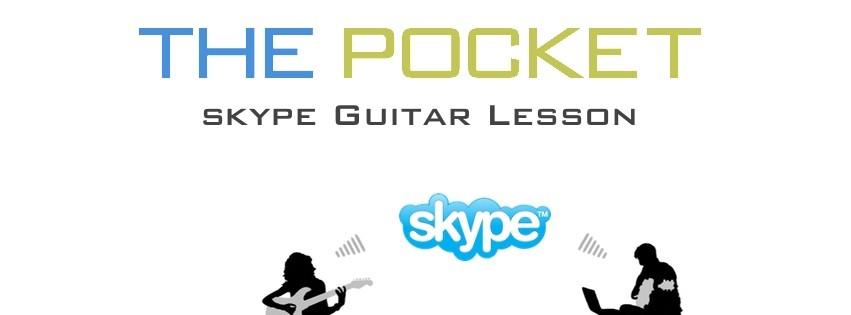 THE POCKET - Skype Guitar Lesson