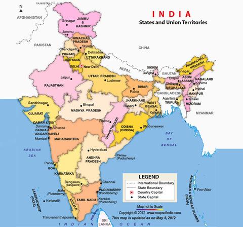 india_map州都入り
