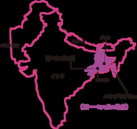 ベンガルmap