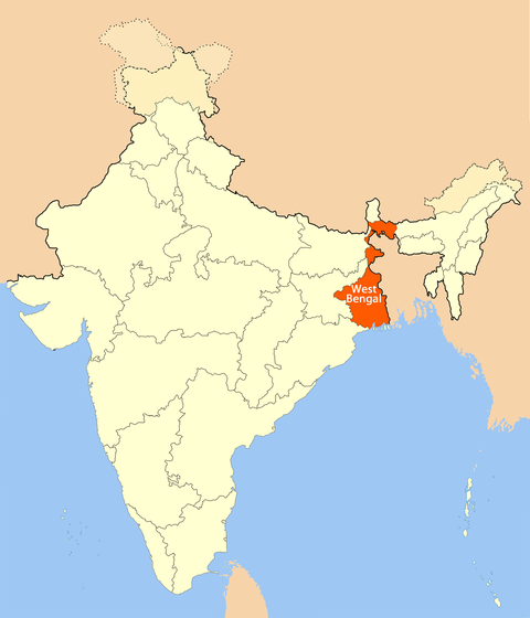 location_map_of_west_bengal