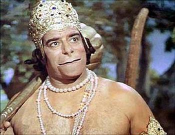 Dara-Singh-as-Hanuman-in-Ramayan-TV-Series