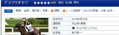 【競馬】 アユツリオヤジよりひどい名前の馬っていまだかつていたか?