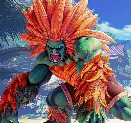 CAPCOM「ブラジル人のキャラかぁ… 肌緑色で髪オレンジの放電するゴリラでええやろ」