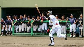 灼熱の鳴尾浜で練習試合 大阪市立大学、Honda鈴鹿《阪神ファーム》(岡本育子)