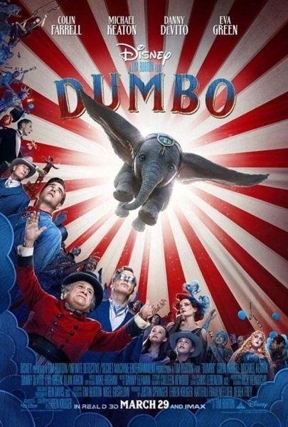 【悲報】韓国さん、 ディズニー新作映画『ダンボ』の旭日旗ポスターに発狂してしまうwwwwwww