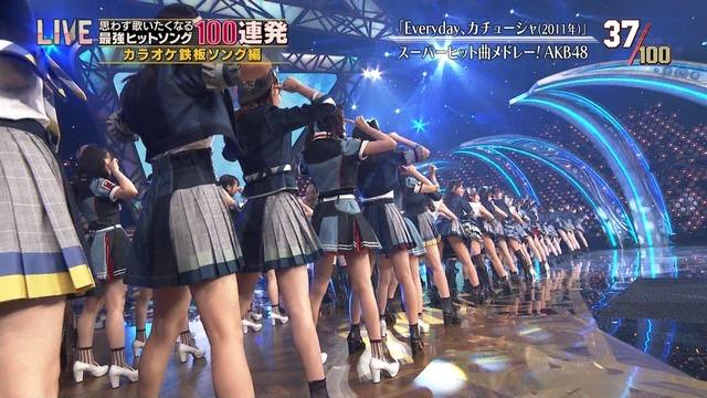 テレ東音楽祭でスカートの中を見せたAKB48に批判殺到!(画像あり)