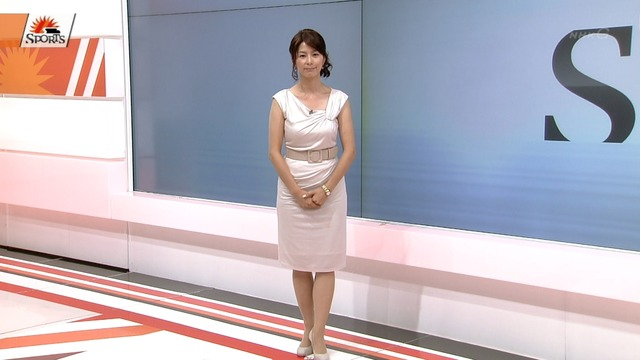 NHK杉浦友紀アナの適度にだらしない体(画像あり)