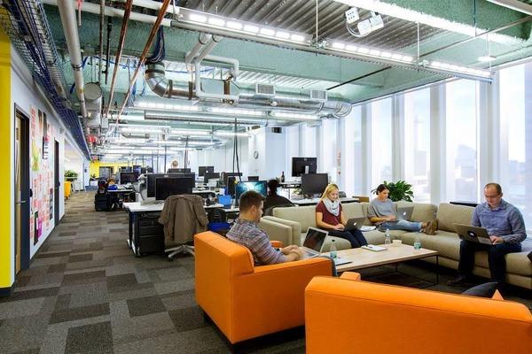 アメリカ様の名だたる大企業のオフィスが自由すぎる… IBMまでディズニーランドみたいになってる件