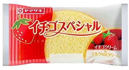 イチゴスペシャルとかいう一番美味しいパンww