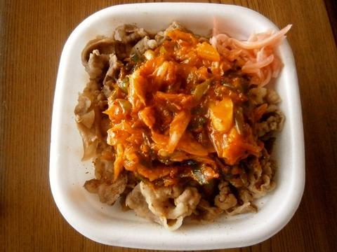 すき家のねぎ玉牛丼とキムチ牛丼どっちが美味しいんや?
