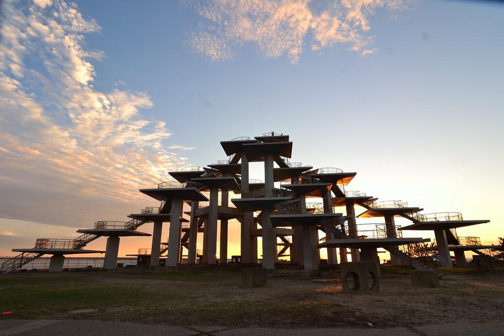 明治百年記念展望塔』へ。 : 後...