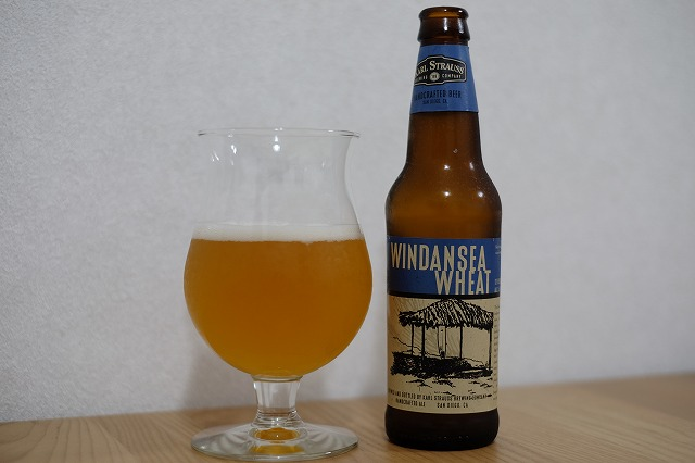 Karl Strauss Brewing Windansea Wheat (2)