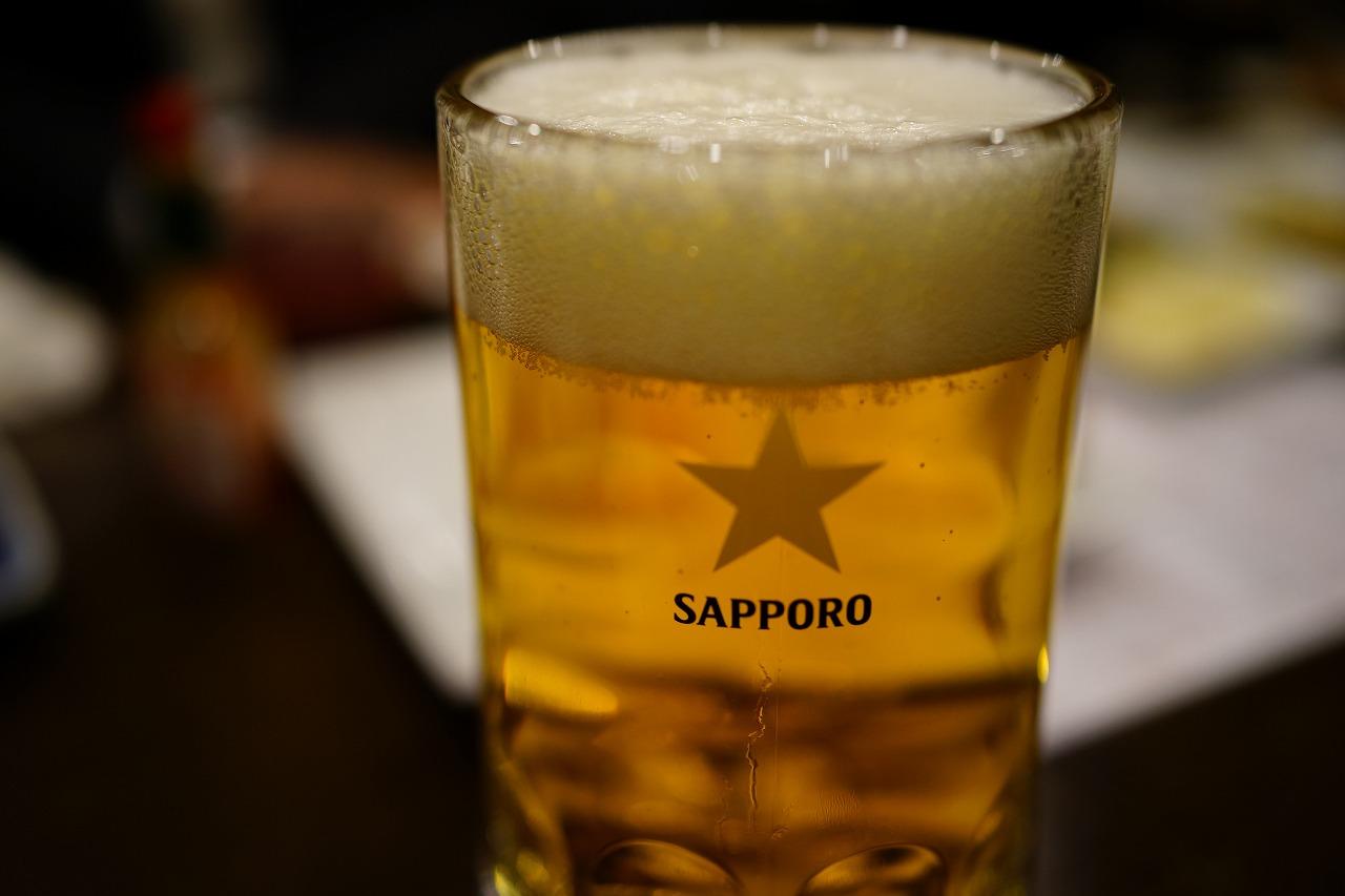 旗の台 遊でヱビスビールとスーパードライを飲み比べてきた! (9)
