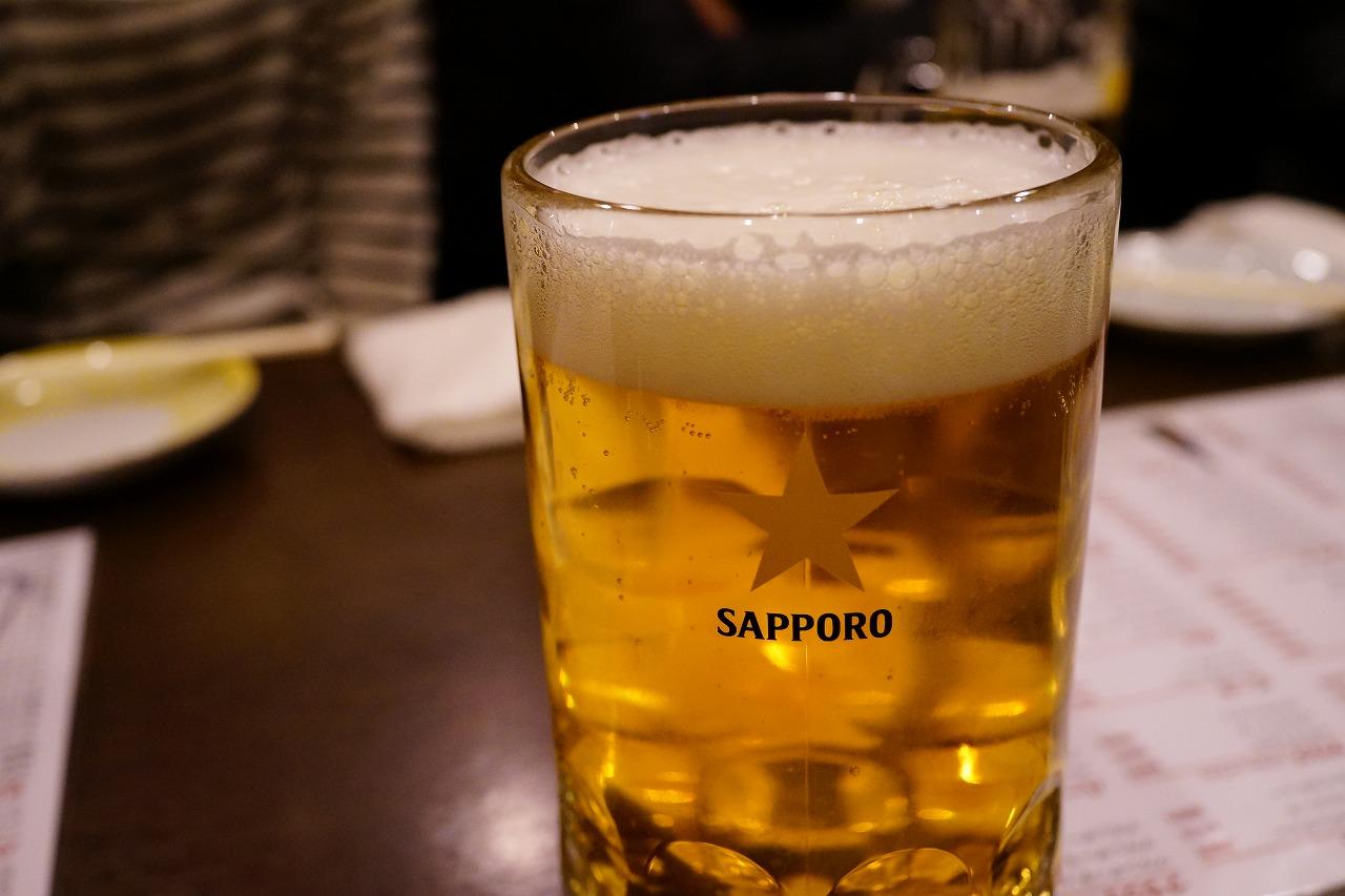 旗の台 遊でヱビスビールとスーパードライを飲み比べてきた! (3)