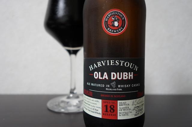 Harviestoun Brewery OLA DUBH 18
