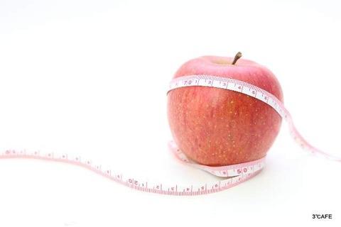 りんごと寒天