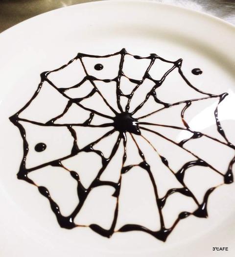 蜘蛛の巣模様